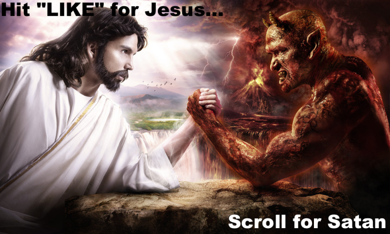 """Like for Jesus,"" Scroll for Sanity"