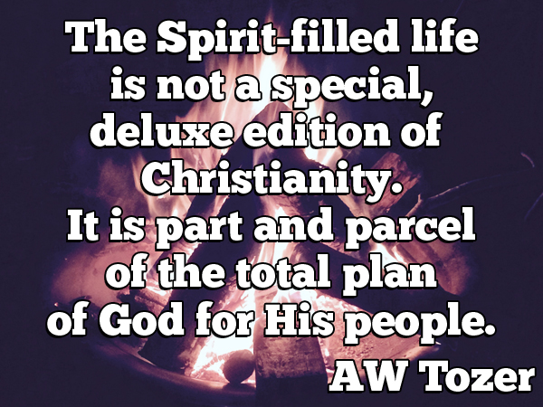Tozer – Spirit-Filled Life